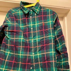 Ralph Lauren Holiday button down shirt size 6